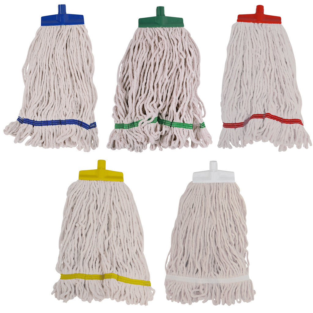 SYR Changer Mops 12oz - Cotton Stayflat Looped Mops