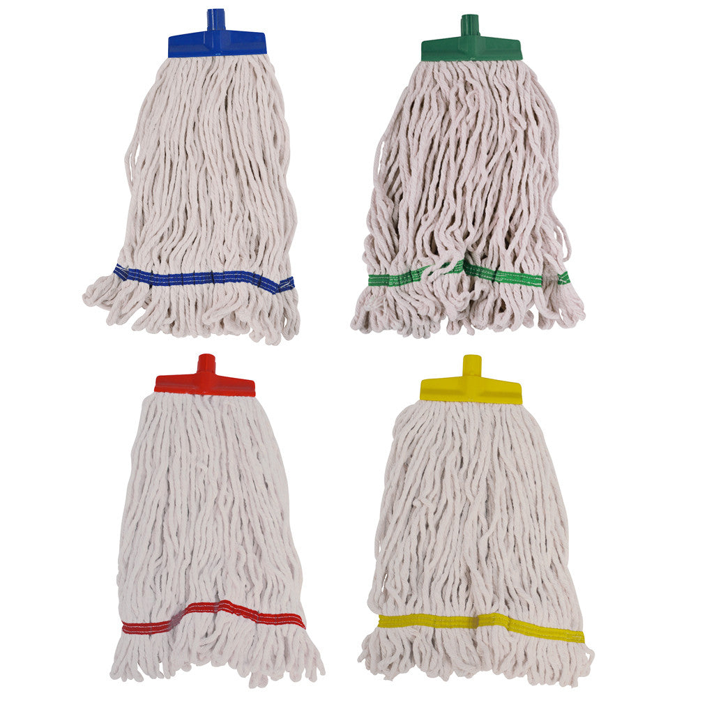 SYR Changer Mops 16oz - Cotton Stayflat Looped Mops
