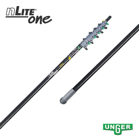Unger nLite® One - CT81T Carbon Fibre - 5 Section / 30ft Pole