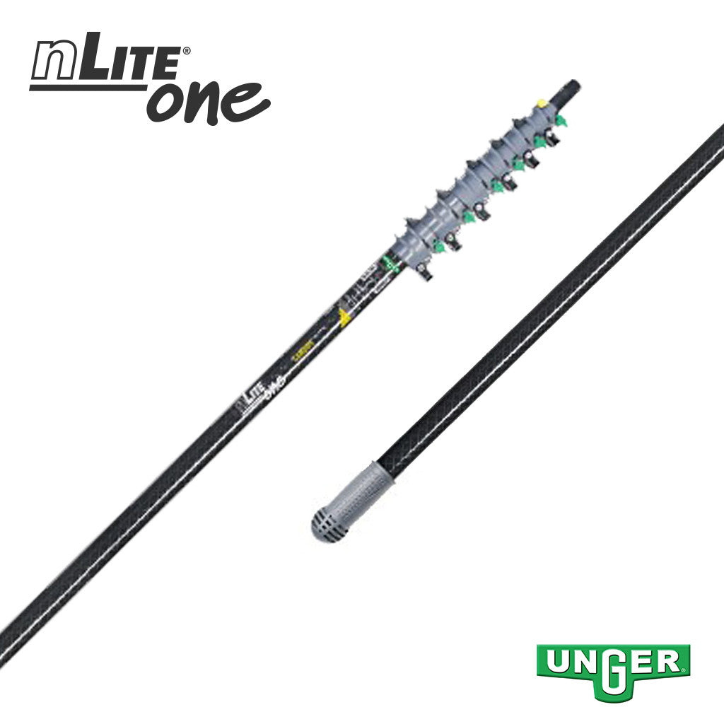 Unger nLite® One - CT96T Carbon Fibre - 6 Section / 34ft Pole