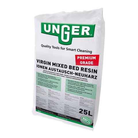 Unger Premium Grade Virgin Mixed Bed Resin | 25 Litre Bag | DIB25
