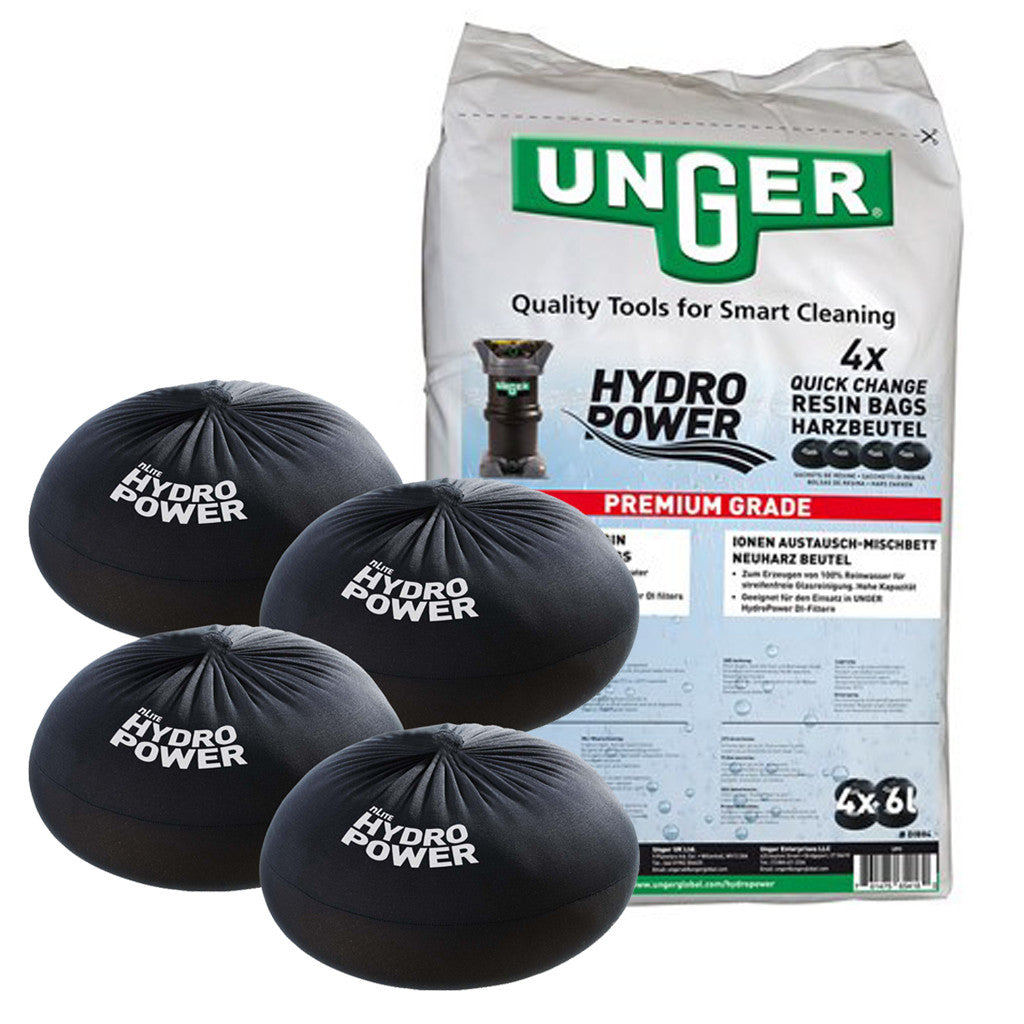 Unger QuickChange Resin Bag | DIB84 | 4 Pack Air Tight Bag