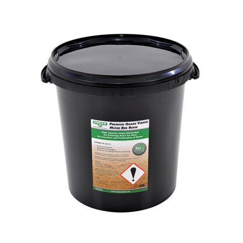 Unger Premium Grade Virgin Mixed Bed Resin | 25 Litre Bucket | DIP25