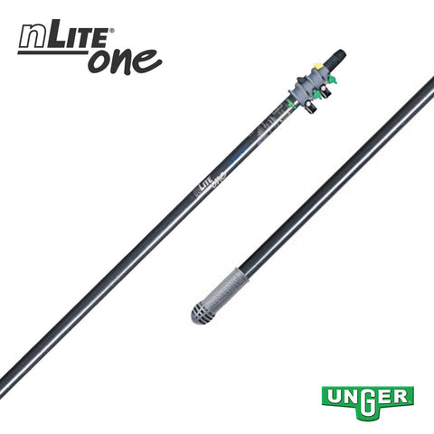 Unger nLite® One - GF25T Glass Fibre - 2 Section / 11ft Pole