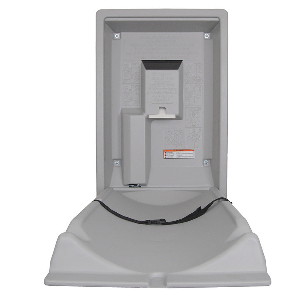 Go Buy Koala Kare Vertical Baby Changing Station Go Cleaning - Koala care changing table