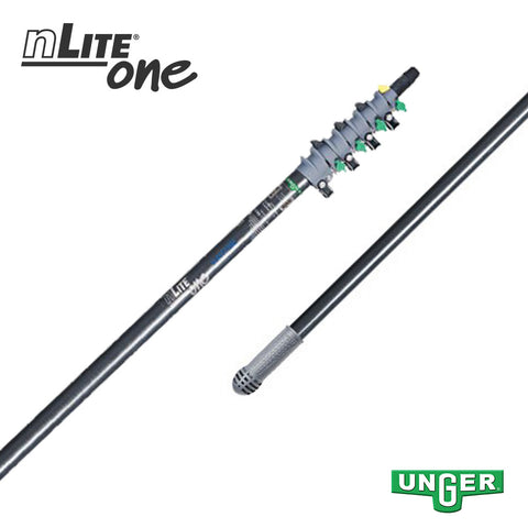 Unger nLite® One - GF45T Glass Fibre - 4 Section / 18ft Pole