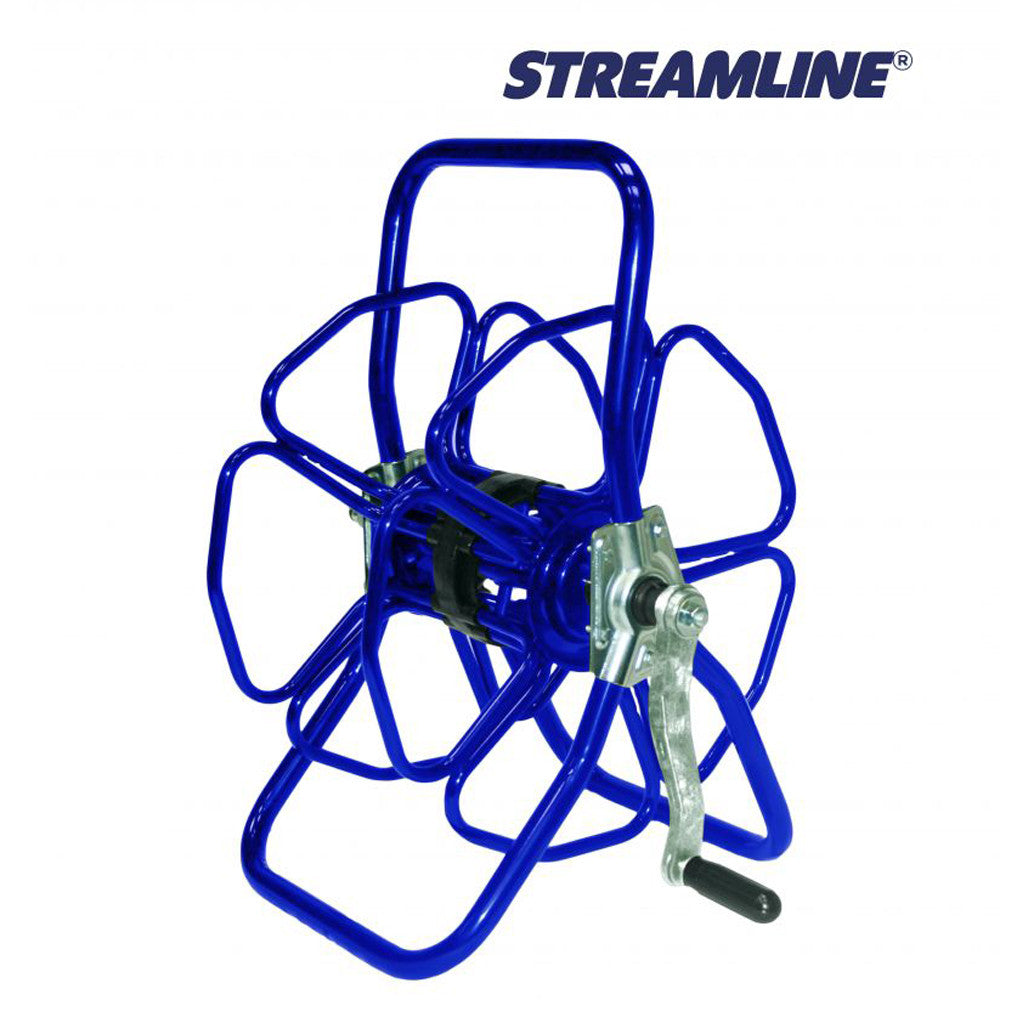 Streamline Freestanding Metal Hose Reel - Assembled