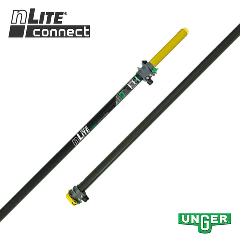 Unger nLite® Connect - HT35G Hybrid Extension Pole - 2 Section / 11ft