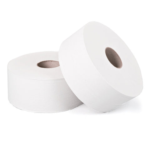 "Maxi Jumbo Toilet Rolls | Premium 2 Ply Tissue | Large Core 3"" / 76mm 