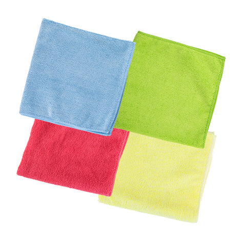 Unger SmartColor MicroWipe 4000 Microfibre Cloths MF40 - 10 Pack