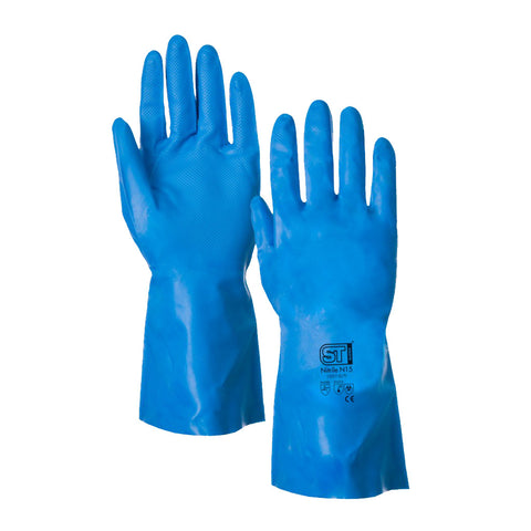 Nitrile N15 Chemical Resistant Gloves - Per Pair