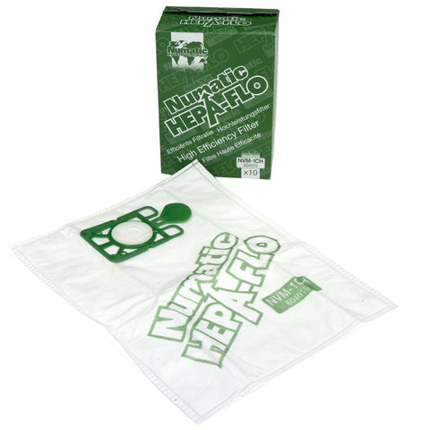 Numatic NVM-1CH Hepaflo Dust Bags - Pack/10
