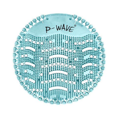 P-Wave Urinal Deodorising Screen | Pack 10 | Ocean Mist