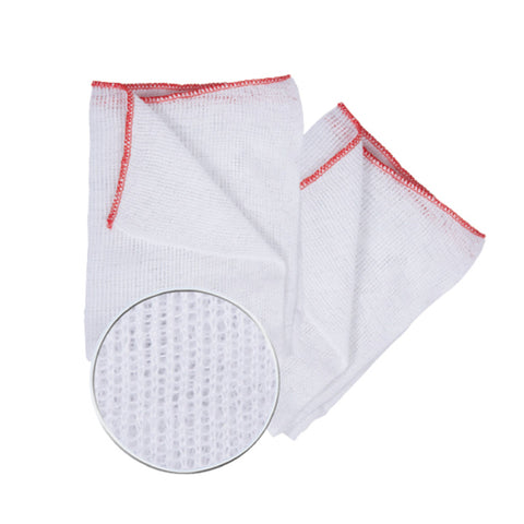 All Purpose Bleached White Dishcloth - 10 Pack