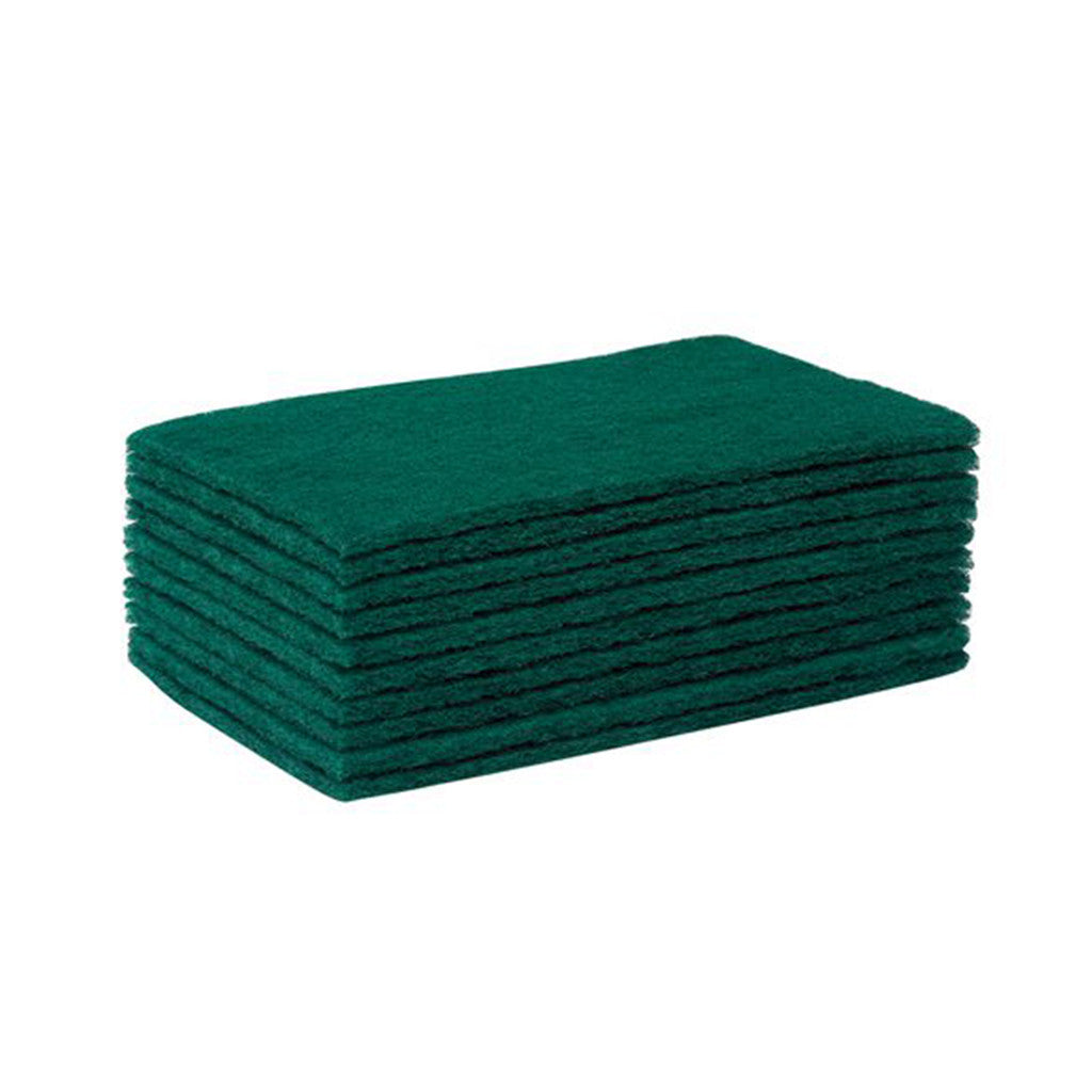 Catering Scourers - Green - 10 Pack