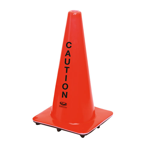 Hi-Viz Caution Safety Cone