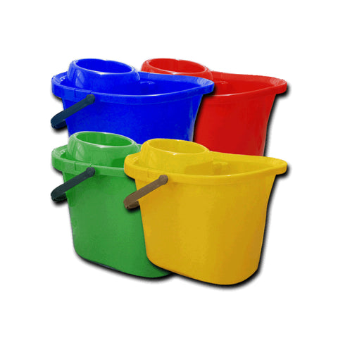 Ramon 10 Litre Mop Bucket with Wringer - 5060