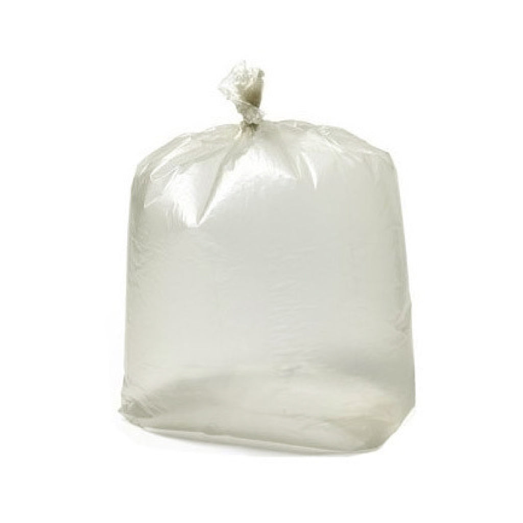 "Premium Recycled 90 Litre Clear Refuse Sacks - 18"" x 29"" x 39"" - Box 200"