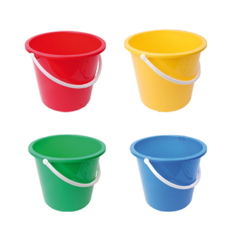 10 Litre Round Plastic Bucket with Handle
