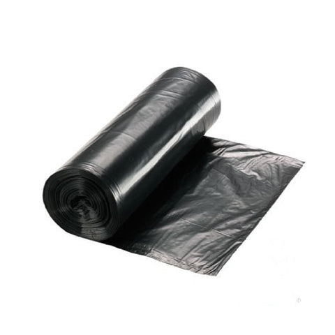 "Standard 90L Black Refuse Sacks - 18"" x 29"" x 39"" - Roll/20"