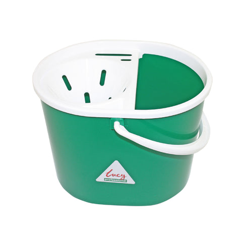 Lucy 7 Litre Oval Mop Bucket with Wringer & Portion Control