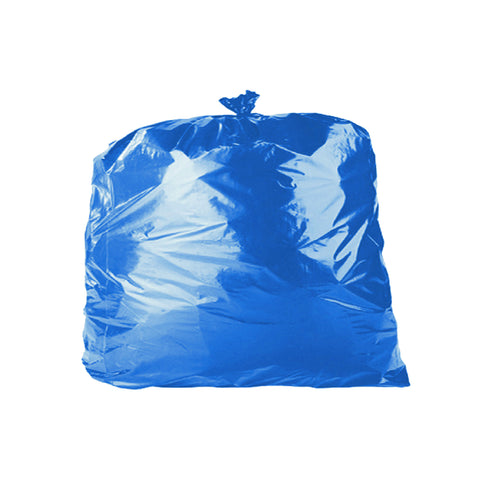 "Blue 90L Refuse Sacks - 18"" x 29"" x 39"" - Case/200"