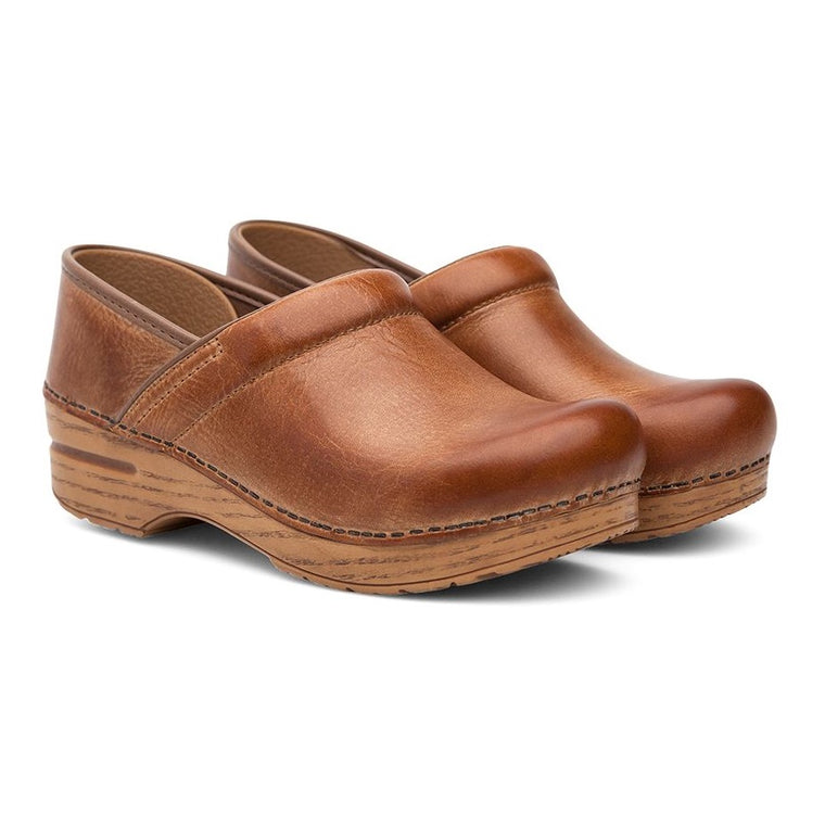 Women's Dansko Professional - Honey Distressed (WIDE)