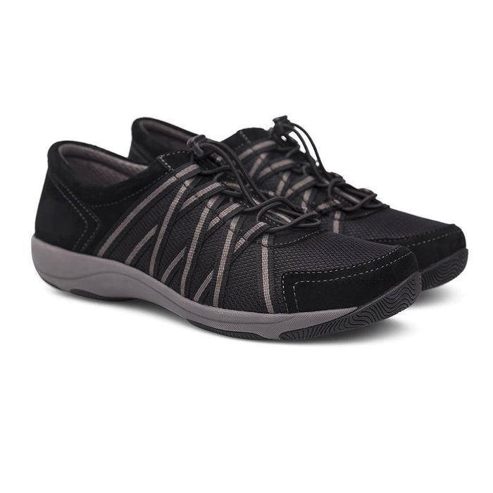 Women's Dansko Honor - Black/Black Suede