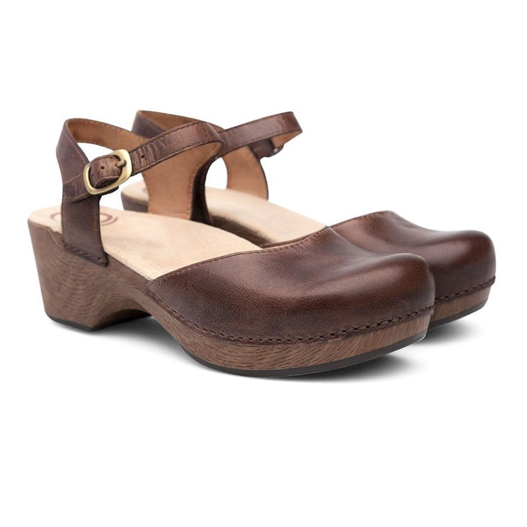 Women's Dansko Sam - Teak Vintage Pull Up