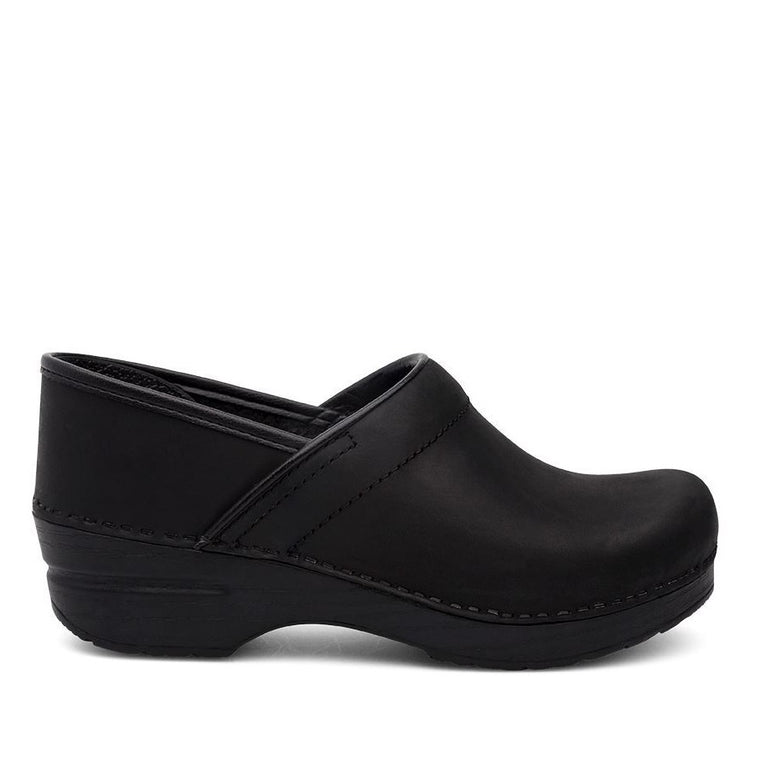 Dansko Women's Professional Clog - Black Oiled