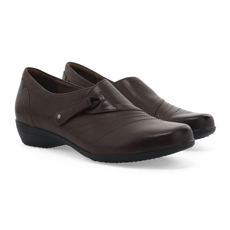 Women's Dansko Franny - Chocolate Burnished Calf