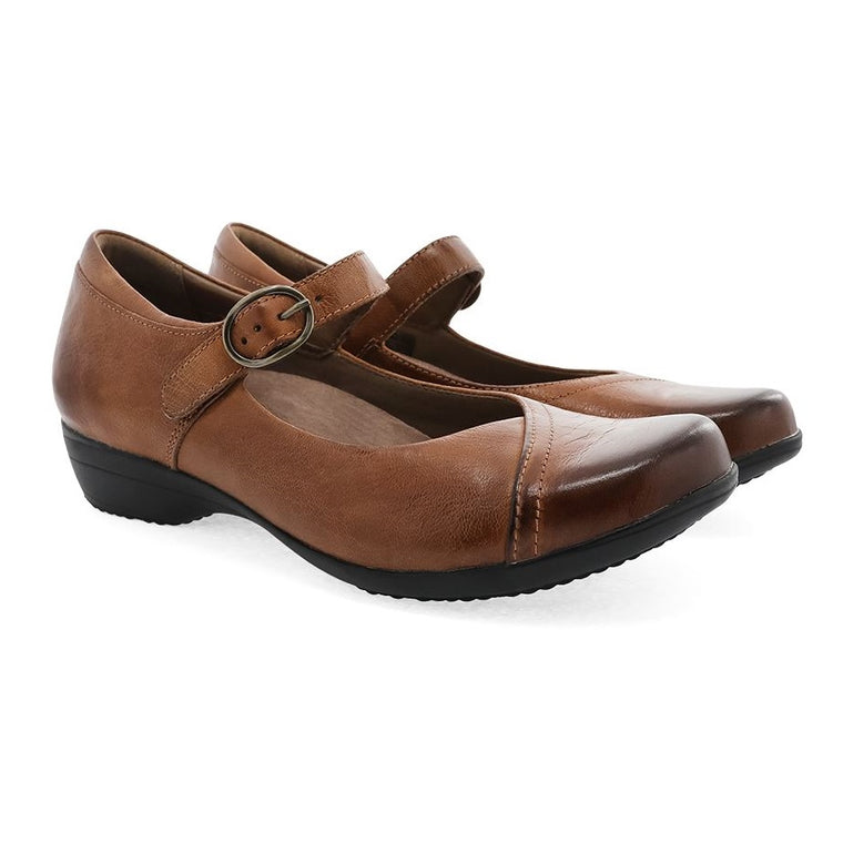 Women's Dansko Fawna - Chestnut Burnished Calf