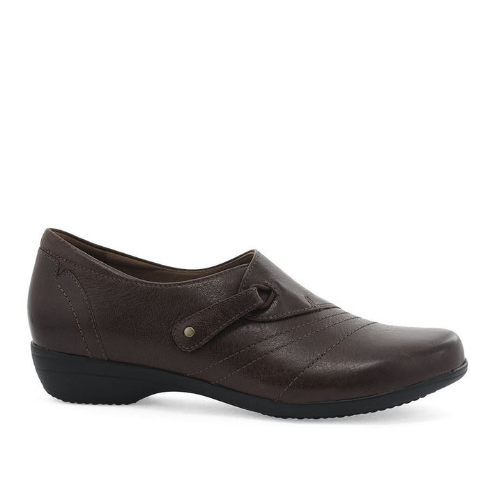 Dansko Women's Franny Loafer - Chocolate Burnished Calf