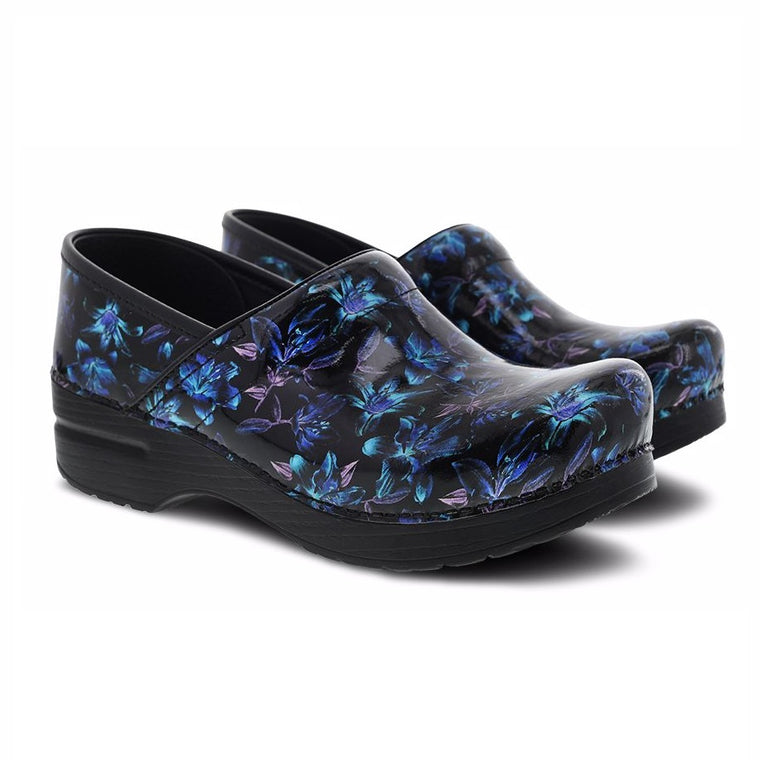 Women's Dansko Professional - Night Bloom Patent