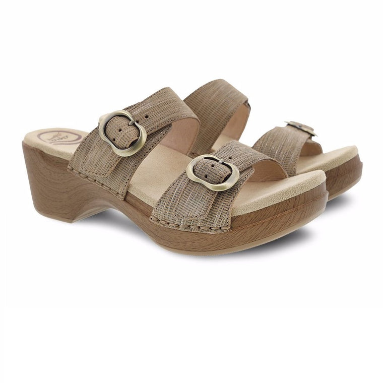 Women's Dansko Sophie - Tan Metallic