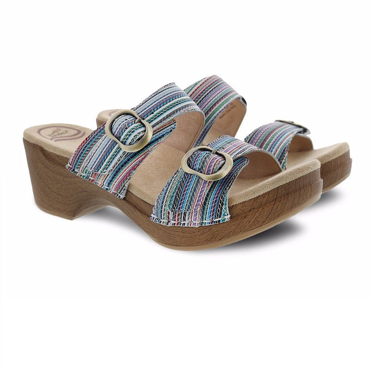 Women's Dansko Sophie - Multi Stripe