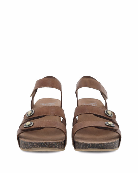 Women's Dansko Savannah - Tan Waxy Burnished