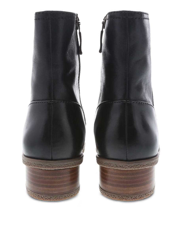 Women's Bethanie Mid Boot - Black Waterproof Burnished