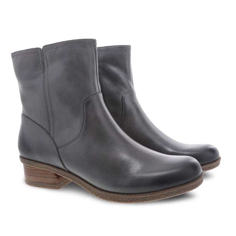 Women's Bethanie Mid Boot - Grey Waterproof Burnished