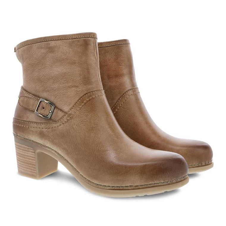 Women's Dansko Hayley Boot - Tan Distressed