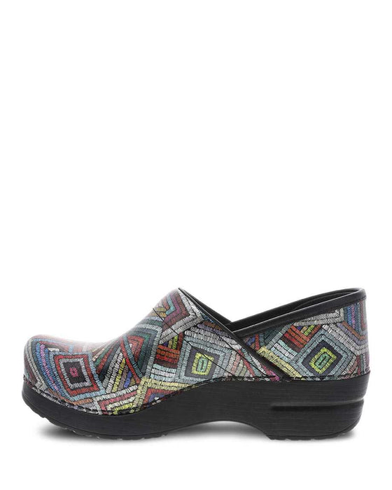 Women's Dansko Professional Nursing Clogs - Color Maze Patent