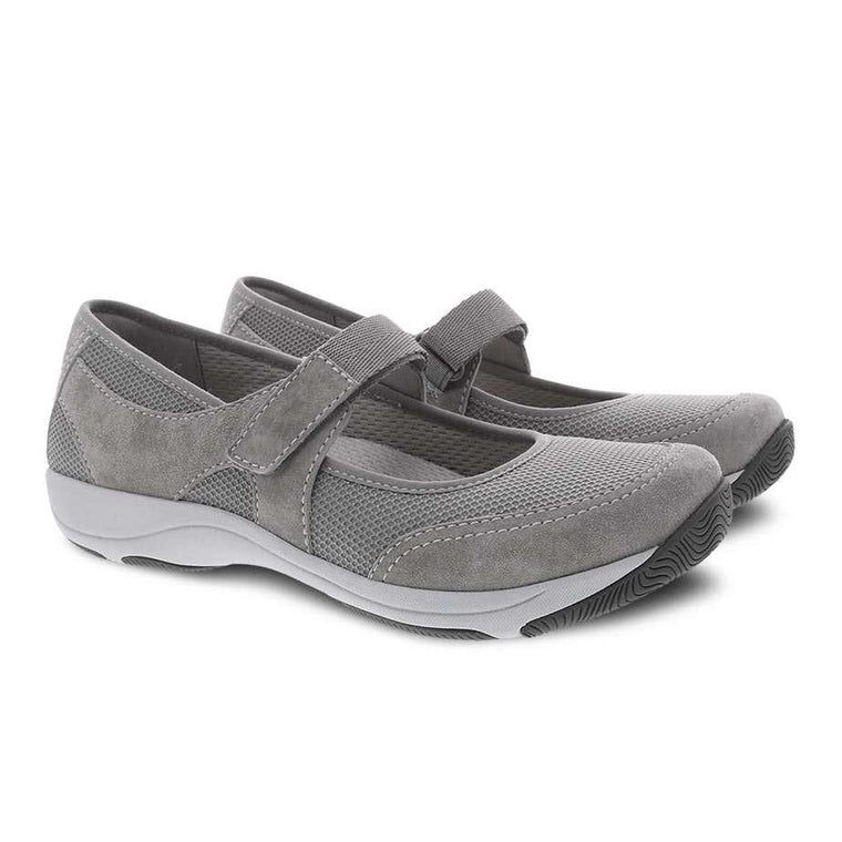Women's Dansko Hennie Mary Jane - Grey Suede