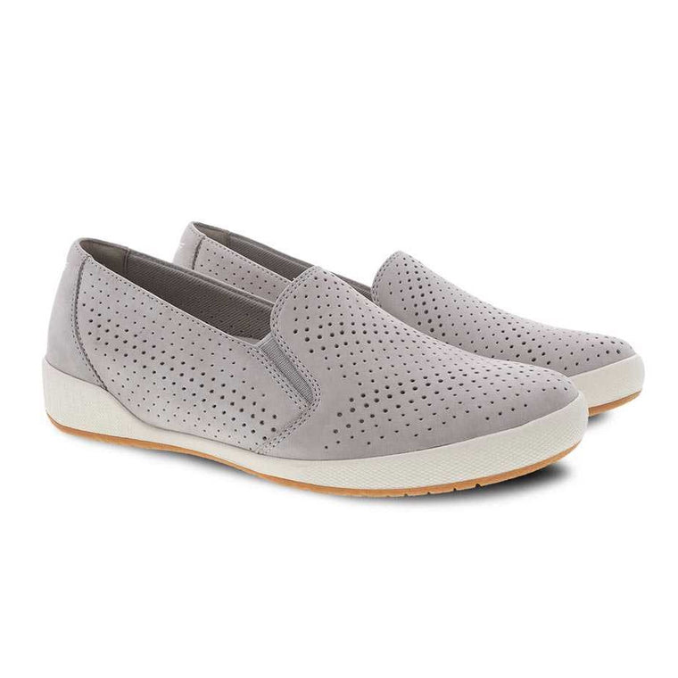 Women's Dansko Odina Slip-On - Cement Nubuck