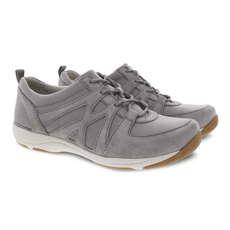Women's Dansko Hatty Sneaker - Grey Suede