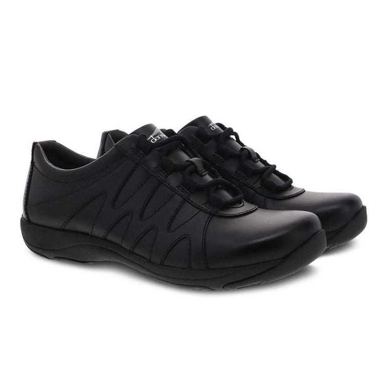 Dansko Women's Neena Sneaker - Black Leather