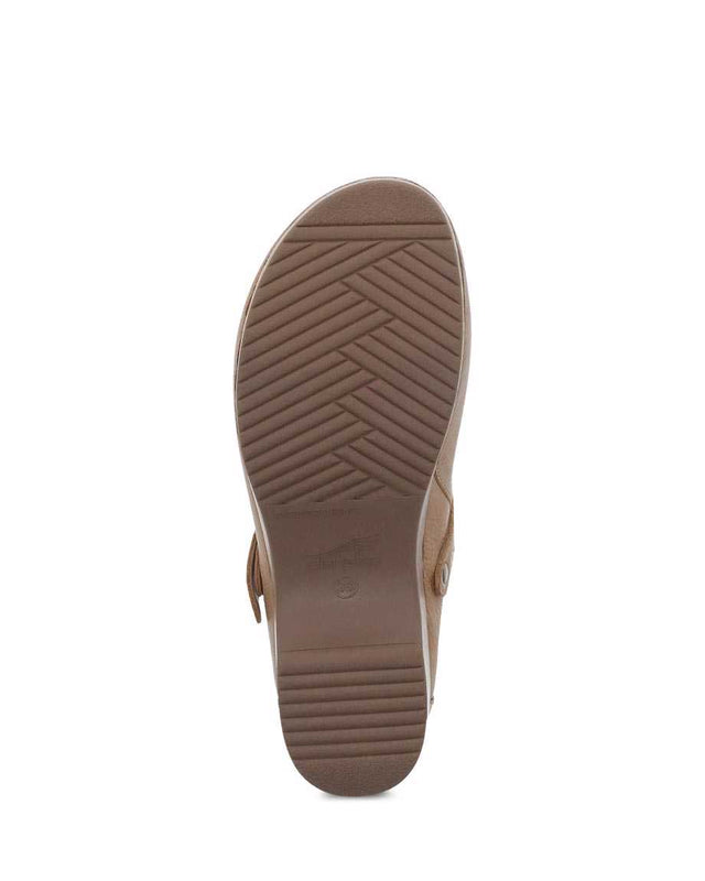 Dansko Women's Berry Mule - Tan Milled Burnished