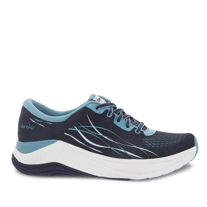 Dansko Women's Pace Walking Shoes - Navy Mesh