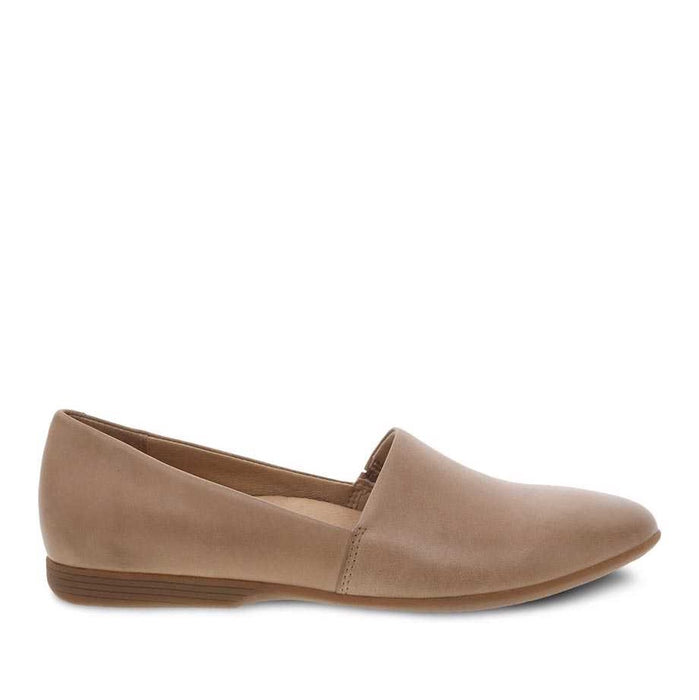 Dansko Women's Larisa Flat - Tan Burnished Nappa
