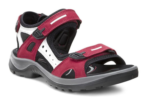 Women's Yucatan Sandal - Chili Red