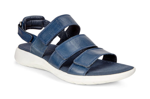 Soft 5 3-Strap Sandal - True Navy